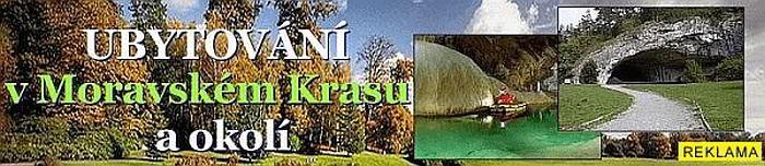 Ubytování Moravský Kras